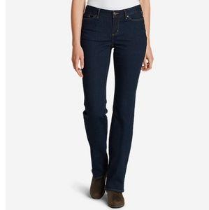 Eddie Bauer StayShape Slightly Curvy Bootcut Jeans